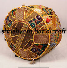 Large Selection Pouf Ottoman Cover pouffe Foot Stool Moroccan Seat Ottoman Throw