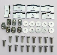 Triumph TR2 TR3 TR4 TR6, & Spitfire Gearbox Tunnel  / Cover Fixing Kit 713569FK