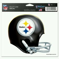 PITTSBURGH STEELERS 5X6 MULTI-USE DECAL THROWBACK COLLECTION 70's RETRO HELMET