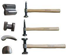 Ausbeulwerkzeug Ausbeulhammer Set BGS 1672 7 tlg. Werkzeug Kfz Karosserie Blech