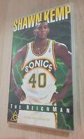1995 NBA Shawn Kemp The Reignman VHS Video Tape Basketball