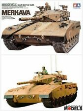 MERKAVA ISRAELI MAIN BATTLE TANK 1/35 Model Kit Carro armato Tamiya 35127 Nuovo