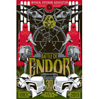 STAR WARS BATTLE OF ENDOR Limited Edition Giclee Art Print #49/83 watercolor
