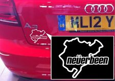 2x Nurburgring Novelty Car Bike Decal Transfer Mural Stencil Art Tattoo Sticker