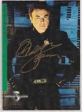 Babylon 5 Signed Card Auto B5 Season 4 Alfred Bester Chekov Walter Koenig v313