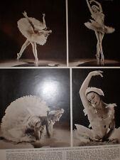 Photo article Ballet Alicia Markova The Dying Swan 1956