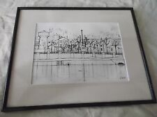 drawing signed