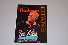 DENNIS RODMAN SIGNATURE ROOKIES 1995 #T2 PROMO CARD
