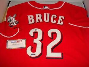 Jay Bruce signed Cincinnati Reds jersey - Tristar Authentic- All Star OF