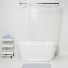 Peva Shower Liner Made By Design 71x71 Inches Medium Weight