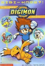 Digi-Know?!: The Official Book of Digital Digimon Monsters Facts and Fun (Digimo