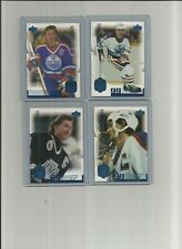 1999 UD WAYNE GRETZKY LOT 4 LIVING LEGEND YEAR OF THE GREAT ONE 14 15 25 42