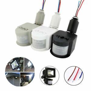 110V~240V LED Outdoor Infrared PIR Motion Sensor Detector Wall Light Switch 180°