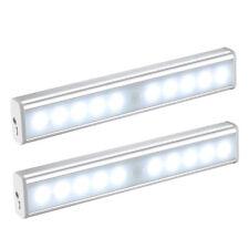 2pc sensor de movimiento PIR luces de la noche Stick-en cualquier lugar la oscuridad USB luz de recarga