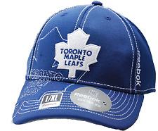 Toronto Maple Leafs Reebok M250Z NHL Pro Draft Flex Fit Hockey Cap Hat  L/XL