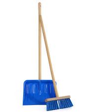 Ondis24 Kinderschneeschaufel Kinderschneebesen Set Fun 20 cm blau