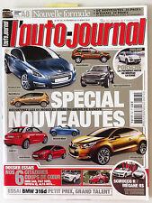 L'AUTO-JOURNAL du 2/2010; Les 60 modèles stars du salon de Genève