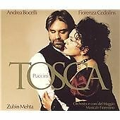 Giacomo Puccini - Tosca [Bocelli/Cedolins] (CD Box Set 2003) NEW & SEALED