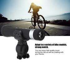 LED Fahrradlampe Musik Lautsprecher USB 1200mAh Fahrradlicht MP3 Player