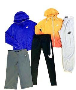 Nike Leggings Womens Size Medium Hoodie Sweatshirt Athletic Lot Of 5 Items