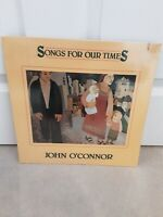 """John O'Connor  – Songs For Our Times Vinyl 12"""" Sealed Mint LP Flying Fish 1984"""
