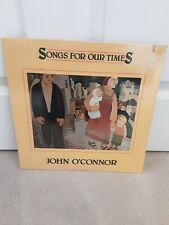 "John O'Connor  ‎– Songs For Our Times Vinyl 12"" Sealed Mint LP Flying Fish 1984"