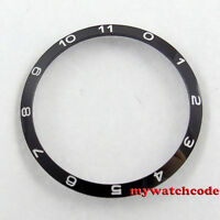 39mm black ceramic bezel insert bezel for 41mm Debert mens watch