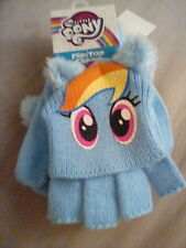 Girls My Little Pony Rainbow Dash Flip Top Gloves