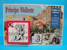 PRINCE VALIANT #2 * SLIDE PUZZLE SKILL GAME * Harold Foster * CARDED ARGENTINA
