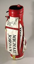 """MICHAEL JORDAN USED GOLF BAG 1/1 UDA PERSONAL COLLECTION  """"WANTED"""""""