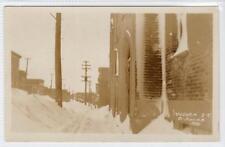 VICTORIA STREET, ST JOHN, 1926: New Brunswick Canada postcard (C30830)