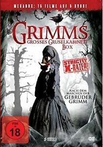 15 Horrorfilme Hänsel & Gretel 1-3 / Sleeping Beauty 1-2 / Cinderella 1-3 NEU