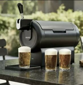 Beerwulf The SUB Compact Black Krups Beer Dispenser-Brand New! Fast Shipping!✅🍺
