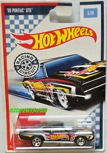 HOT WHEELS RACING CIRCUIT #5/10 '69 PONTIAC GTO