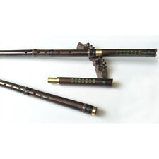 8 holes Chinese Instrument Purple Bamboo 2 Sections Profession Flute Xiao G Key