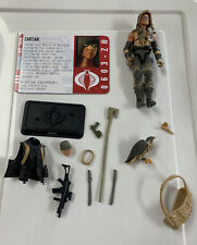 GIJOE POC ZARTAN Loose 100% Complete PURSUIT of COBRA Dreadnok