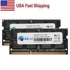 Usa 16Gb 2x8Gb Ddr3L-1600Mhz So-Dimm Laptop Memory For Dell Hp Ibm Lenovo Upgrad