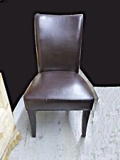 Contemporary Faux Leather Accent CHAIR