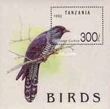 Timbre Oiseaux Tanzanie BF181 ** lot 19911