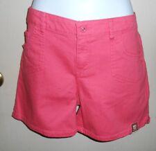 Arizona Plus Size Adjustable Waist Girls Denim Shorts Honeysuckle 18 1/2 NWT