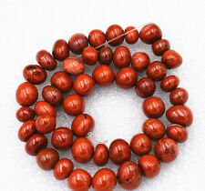 """Beautiful 8x10mm Red Picasso Irregular Shapes Gemstone loose beads 15 """""""