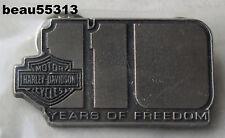 """HARLEY DAVIDSON 2013 110th ANNIVERSARY """"110 YEARS OF FREEDOOM"""" VEST PIN"""