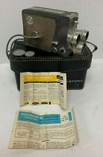 Vintage Keystone K-5 8mm Movie Camera With Case