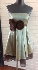 WOMENS ANTHROPOLOGIE Stunning Evening/Prom Chiffon Style Dress Size S
