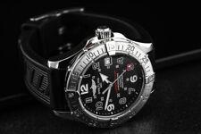 Beautiful 100% Genuine Men's S/Steel BREITLING SUPEROCEAN Automatic watch / Box