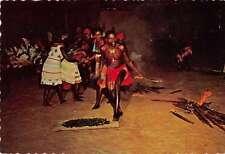 Suriname Negro Creek Djuca Firedance Vintage Postcard J67956