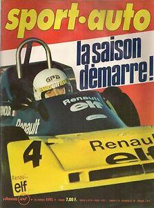 SPORT AUTO 183 1977 PORSCHE 928 GP AFRIQUE DU SUD RALLYE DU PORTUGAL 6H MUGELLO