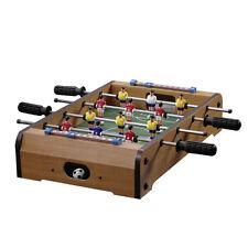 Holz Kicker 51x51x10cm, Fussballtisch Kickertisch Tisch Fußball Fussballspiel