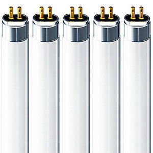 5x Bell 13w T5 21 inch Fluorescent tube 640 4000k cool white light 13 Watt 530mm