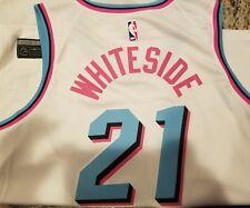 Miami Heat #21 Hassan Whiteside *CITY* MIAMI VICE Nike Swingman Jersey 3XL RARE
